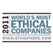 2011 World's Most Ethical Company Award from Ethisphere