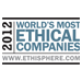 World's Most Ethical Companies 2012