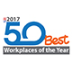 2017 50 Best Workplaces of the Year