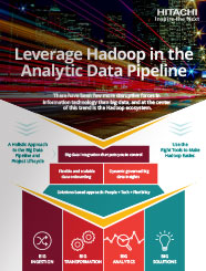 Leverage Hadoop in the Analytic Data Pipeline
