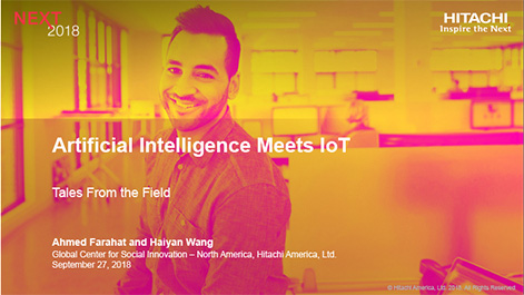Artificial Intelligence Meets IoT