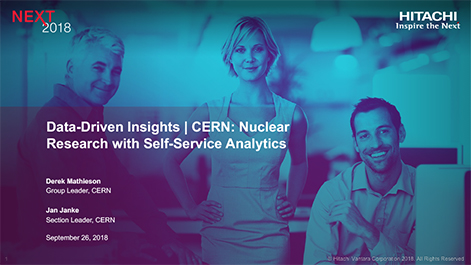 Data-Driven Insights | CERN: Nuclear Research with Self-Service Analytics