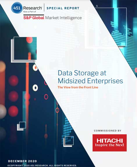 Data Storage at Midsized Enterprises - 451 Research Special Report