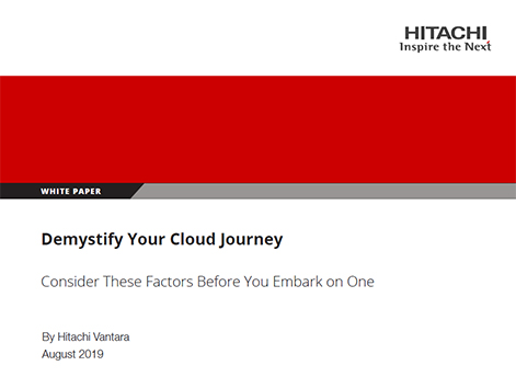 Demystifying The Cloud Journey - Whitepaper