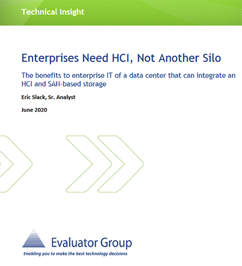 Enterprises Need Hyperconverged Infrastructure (HCI) - Technical Insight