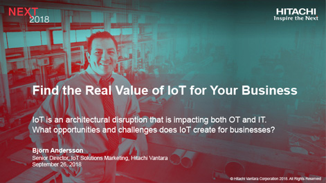 Find the Real Value of IoT for Your Business