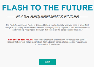 Deciding on Flash Requirements? Try This Easy Tool.