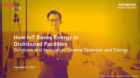 How IoT Saves Energy in Distributed Facilities