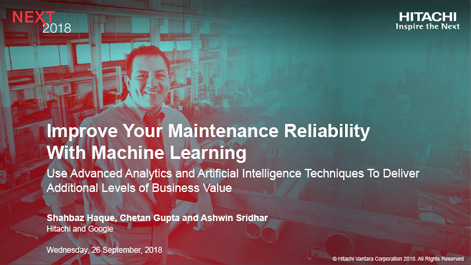 Improve Your Maintenance Reliability with Machine Learning