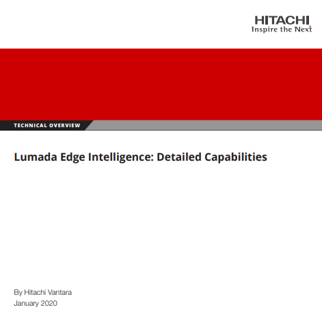 Lumada Edge Intelligence - Technical Overview