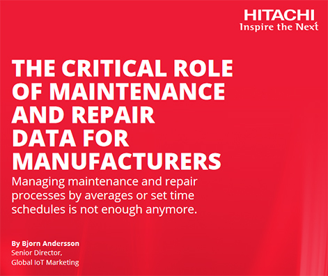 Critical Role of Maintenance and Repair Data for Manufacturers - eBook