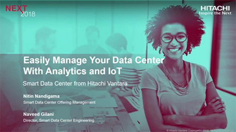 Easily Manage Your Data Center With Analytics and IoT