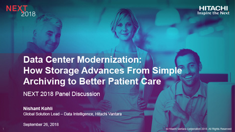 Data Center Modernization: How Storage Advances From Simple Archiving to Better Patient Care