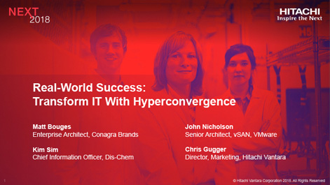 Real-World Success: Transform IT With Hyperconvergence